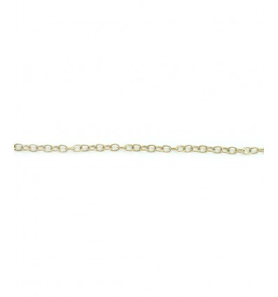 Chaine maillons 3mm - bronze inoxydable